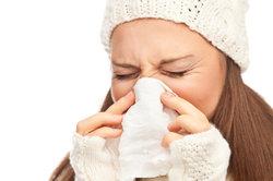 Eine Erkältung muss auskuriert werden.