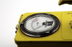 Geigerzähler zum Nachweis radioaktiver Strahlung
