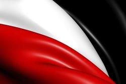 Schwarz, Weiß und Rot waren die Farben der Nationalflagge des Deutschen Reiches.