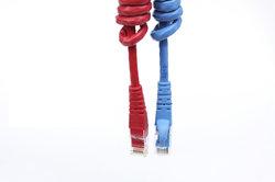 Nicht nur Ethernet-Kabel machen LANs verfügbar.