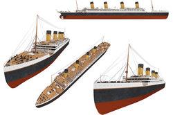 Die Titanic war zu ihrer Zeit das größte Schiff der Welt.