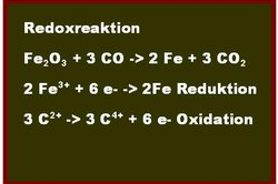 Es handelt sich um einen Redoxreaktion.