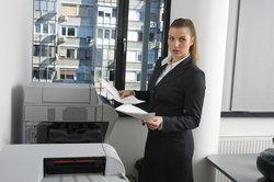 Für Büroumgebungen sind die großen Laserjet-Drucker ideal.
