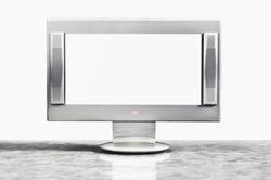 Silberne Fernseher wirken edel.
