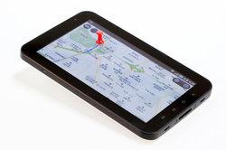 Tablet-PC bietet Funktionalität für unterwegs