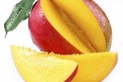 Der Mangokern ist als Bestandteil von Schokolade essbar.