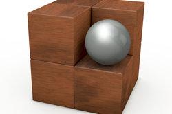 Üben Sie 3-dimensionales Zeichnen zunächst an einfachen geometrischen Figuren.