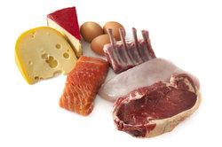 Eiweiß steckt in vielen verschiedenen Lebensmitteln.