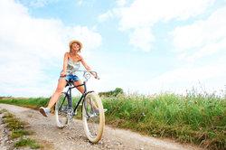 Fahrradrouten können Sie einfach planen.