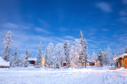 Asa Larssons Bücher spielen im schwedischen Kiruna.