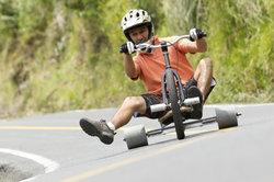 Trike Drifting ist eine Funsportart aus Neuseeland.