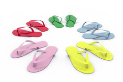 Flip Flops können Blasen verursachen.