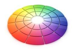 Es gibt zahlreiche Darstellungsformen von Farbkreisen.