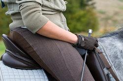 Die Gerte ist ein wichtiges Hilfsmittel für Reiter und Pferd.