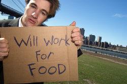 Auch Arbeitslose können ein Nebeneinkommen haben.