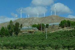 Windparks - Energiebereitstellung durch Windnutzung.