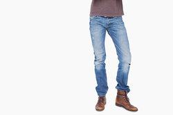 Cro ist für seine engen Jeans bekannt.