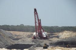 Kohletagebau hinterlässt leider eine Kulturwüste.