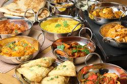 Indisches Essen ist bunt und aromatisch.