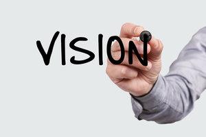 Um Ziele nicht aus dem Auge zu verlieren, ist ein Vision Board perfekt.