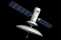 Möchten Sie Nilsat empfangen, müssen Sie einen großen Satellitenspiegel installieren.