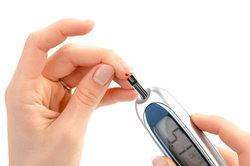 Ihr Glukosewert wird im Blut festgestellt.