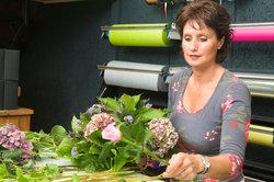 Der Beruf der Floristin erfordert viel Kreativität.