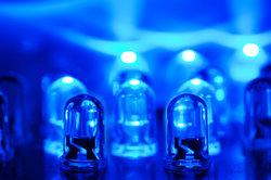 Die LEDs auf dem Würfel erzielen einen tollen Effekt.