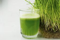 Weizengrassaft ist ein wahres Powergetränk.