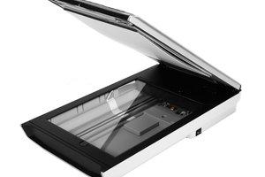 Der Flachbettscanner kann mit einem aktuellen Treiber mit aktuellen Betriebssystem zusammenarbeiten.