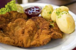Wiener Schnitzel werden auch ohne Fleisch lecker.