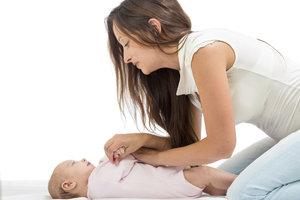 Babys bei den Übungen nicht überfordern