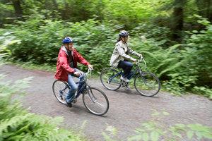 Das Umland von Karlsruhe ist für Radtouren perfekt geeignet.