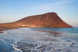 Strand bei El Médano auf Teneriffa.