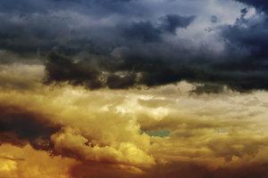 Die schwarze Seele kann auch mit einer schwarzen Wolke verglichen werden.