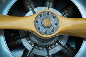 Sternmotoren wurden viel in Flugzeugen eingesetzt.
