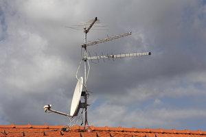 Der Umsetzer UWS 78 ist für DVB-Empfang nötig.