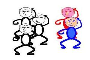 In Cartoon Wars kämpfen Strichmännchen.