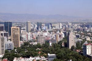 Manche Auswanderer zieht es in die mexikanische Hauptstadt.