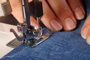 Mit professionellen Nähmaschinen lässt sich besonders präzise arbeiten.