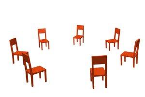 Zur Konfliktbearbeitung gehört eine durchdachte Sitzordnung.