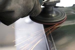 Das Polieren von Metalloberflächen ist meist die Krönung der vorangegangenen Arbeitsschritte.