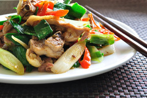 Die asiatische Küche ist leicht und schmackhaft.