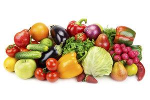 Verzehren Sie täglich frisches Obst und Gemüse.