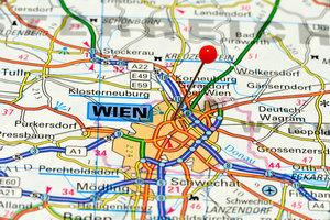 Sie verlassen Wien in westliche Richtung, um nach Innsbruck zu kommen.