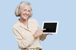 Wenn am Tablet etwas schief läuft, hilft die Sicherheitstaste.