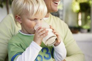 Nicht immer ist Milch für Kinder gesund.