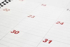 Die gesetzliche Rente wird am Ende eines Monats ausbezahlt.