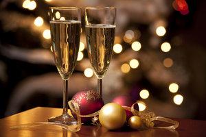 Champagner ist der Inbegriff für festliche Stimmung.