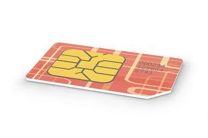 Prepaid-SIM-Karten werden mit Guthaben aufgeladen.